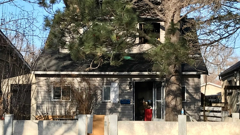 A fire on April 20, 2021, at 12334 85 St. damaged the second floor of a home in the Eastwood community.