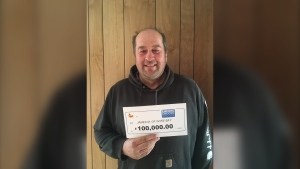 Saying 'yes' to Encore paid off for James Martin of Gore Bay. Martin matched the last six of seven Encore numbers in exact order in the Feb. 23 Lotto Max draw to win $100,000. (Supplied)