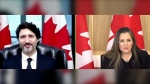 Trudeau, Freeland seeking AstraZeneca shot at phar