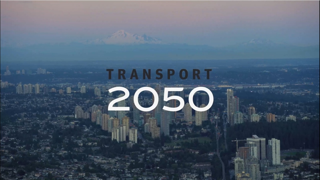 Logo for TransLink transportation plan