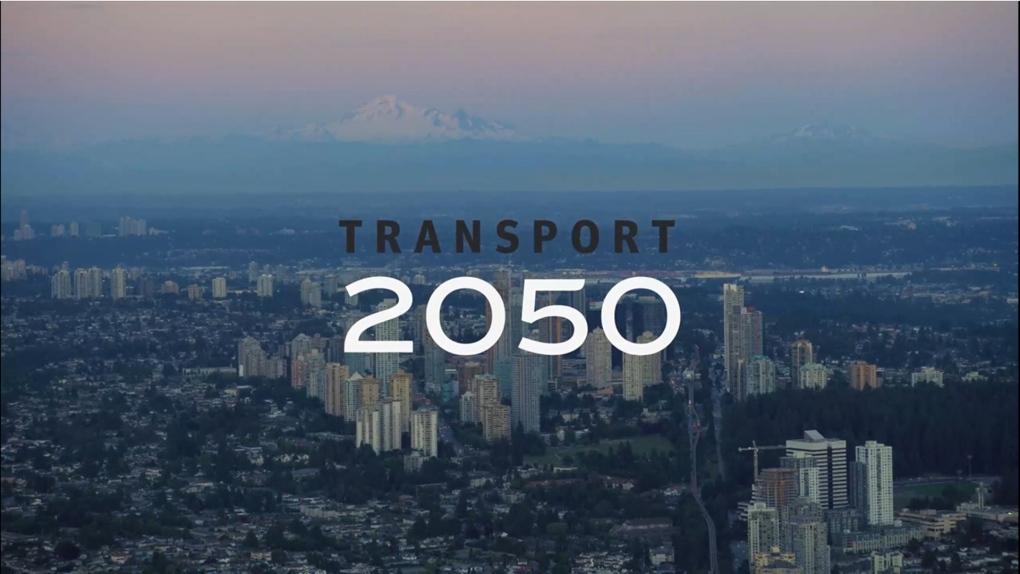 Logo for TransLink transportation plan