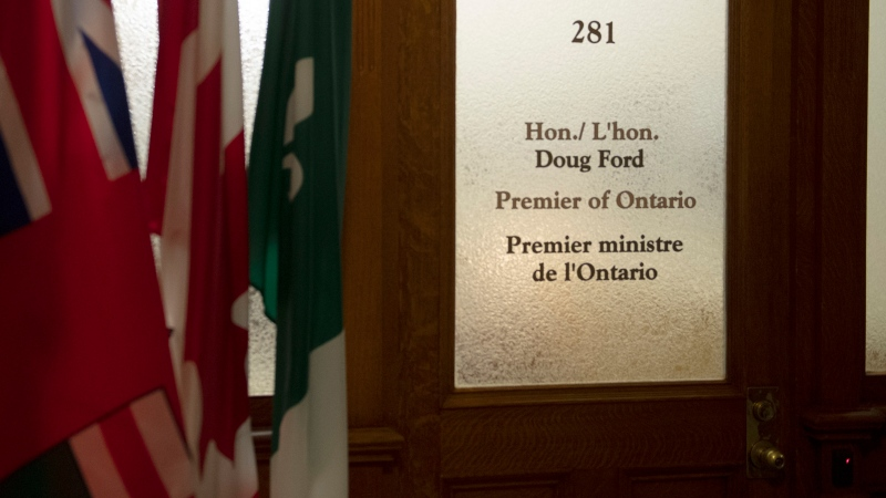Doug Ford's office