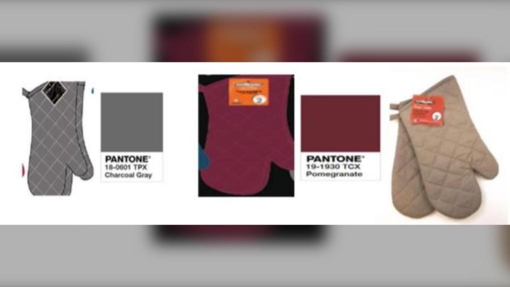 The Proctor Silex Pantone oven mitt