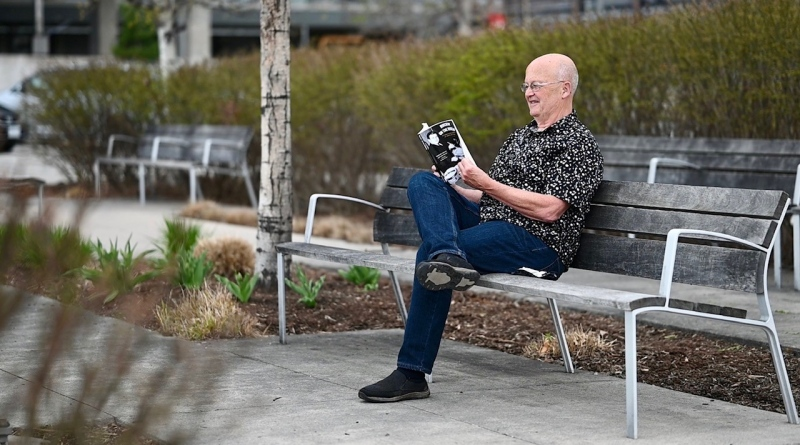 Jim Hurcomb, a veteran Ottawa radio broadcaster, has written a new book about the history of rock 'n roll in Ottawa. (Joel Haslam / CTV News Ottawa)