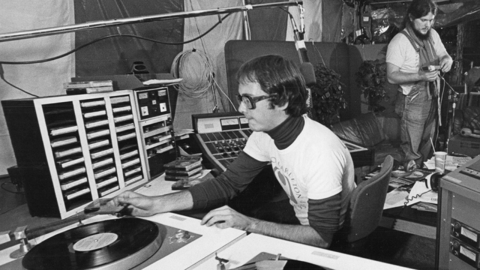 Jim Hurcomb has been on-air in radio for 48 years.