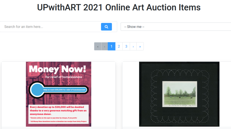 Up With Art 2021 Auction