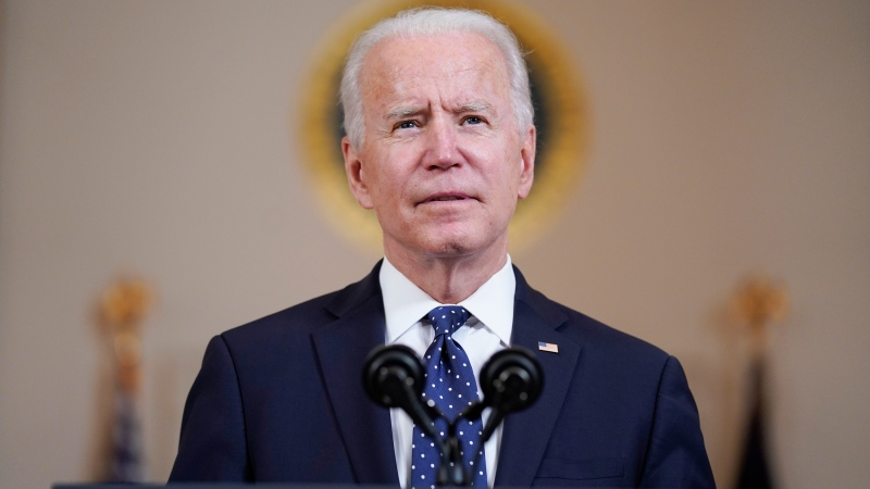 U.S. President Joe Biden on Chauvin verdict