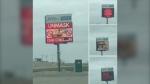 Calls to remove billboard