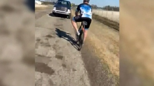 Road rage, cyclists targeted