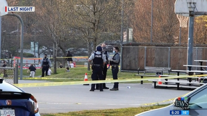 Brazen shooting in busy Vancouver park