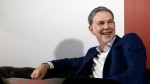 In this Feb. 28, 2017, file photo, Netflix Founder and CEO Reed Hastings smiles during an interview in Barcelona, Spain. (AP Photo/Manu Fernandez, File)