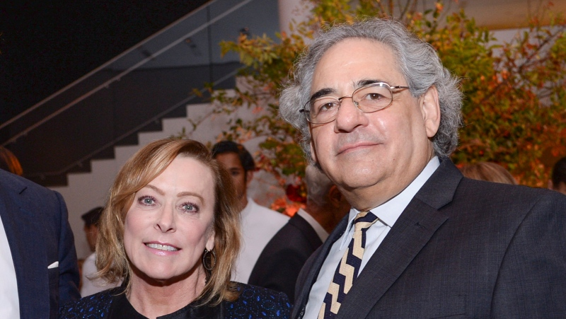 "Fox Searchlight co-presidents Nancy Utley, left, and Steve Gilula attend the after-party for ""He Named Me Malala"" in New York on Sept. 24, 2015. Utley and Steve Gilula who in their two decades at Searchlight Pictures oversaw the releases of major hits including ""Juno,"" ""Slumdog Millionaire,"" ""Little Miss Sunshine"" and ""The Grand Budapest Hotel"" are retiring. (Photo by Evan Agostini/Invision/AP, File)"