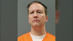 This booking photo provided by the Minnesota Department of Corrections shows Derek Chauvin on April 21, 2021. (Minnesota Department of Corrections via AP)