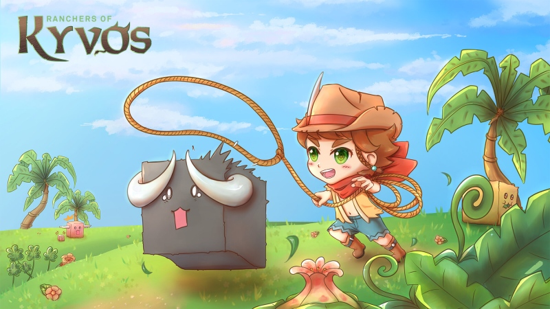 Ranchers of Kyvos is strategy game set in which players breed different colors of a fictional cube-shaped animal. (www.ranchersofkyvos.com)