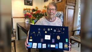 CTV's Hometown Hero Margaret Ferguson was a member of Girls Guides for 60-years and makes clothes, quilts and food that are distributed to the homeless and the hungry through charities such as the YWCA and the PAGC Community Cares Kitchen in Prince Albert. (Lisa Risom/CTV News)