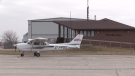The Goderich, Ont. airport on April 20, 2021. (Scott Miller/CTV London)