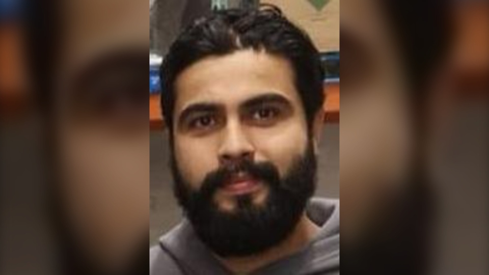 Amninder Grewal has not been seen since April 15 (Image source: Winnipeg Police)