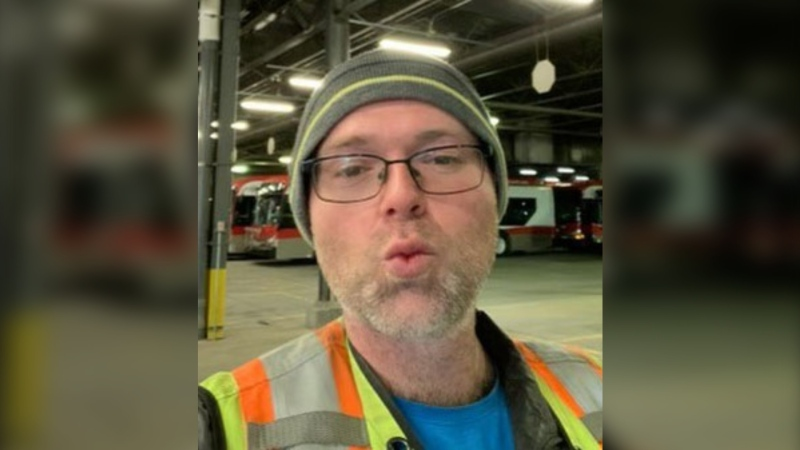 Chris Muise died when he was struck by a pickup truck while walking in the area of Edmonton Trail and Second Avenue N.E. on Tuesday. (Supplied)