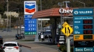Chevron announced a strategic hydrogen technology alliance with Toyota, but said it will keep selling gasoline. (AFP)