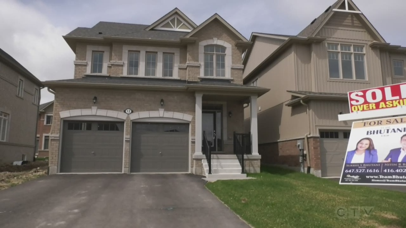 House sales surge in Southern Georgian Bay during the past year. Wed. April 21, 2021 (Craig Momney/CTV News)