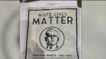 Concerns over 'White Lives Matter' posters