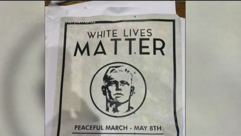Concerns over 'White Lives Matter' posters