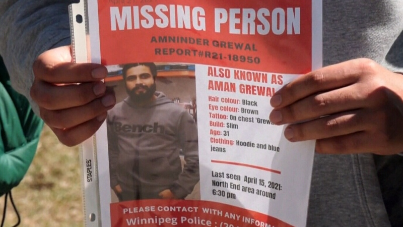 Searching for a missing Winnipeg man