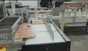 New jobs are expected in the wake of Ontario's lottery retailer extending its partnership with an instant ticket finishing plant in Sault Ste. Marie. (Photo from video).