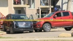 Pedestrian fatally struck by truck