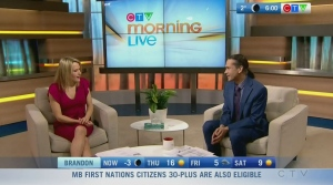 Vaccine eligibility, CFL season: Morning Live