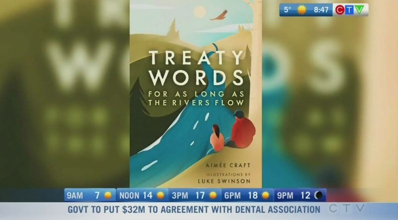 Kids book shows treaties through First Nation lens