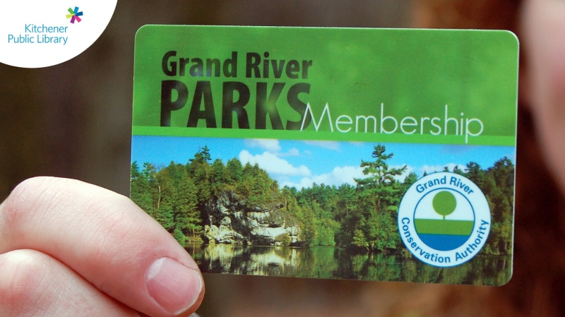 The KPL is now offering park passes (Twitter: Kitchener Public Library)