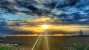 Sunset over Ottawa on April 21, 2021. (Jason Savory/CTV Viewer)