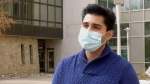 Saskatchewan Dental Students Society President Bilawal Hussain. (Dale Cooper/CTV Saskatoon)