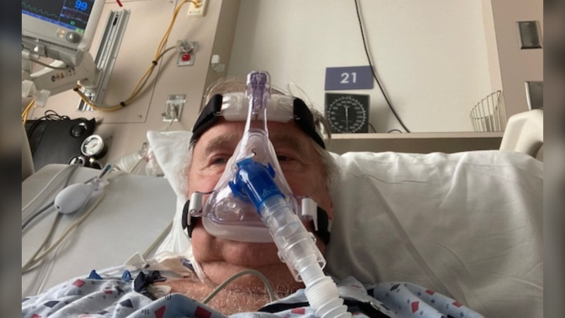 A former high-ranking BC RCMP officer, Al Macintyre says he's faced many dangerous and difficult situations in his career, but nothing has been tougher than his personal battle with COVID-19.
