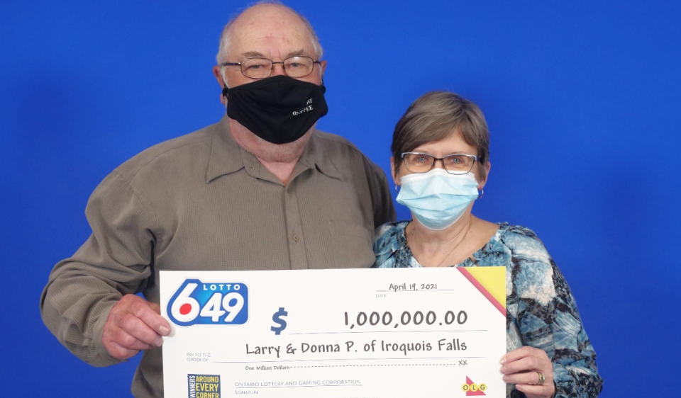 Iroquois Falls lotto winners