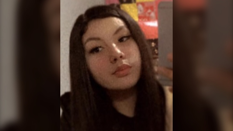 Brooklyn Sinclair, 14, was last seen on Sunday, April 18, 2021, at her Lac du Bonnet home. (Supplied: RCMP)