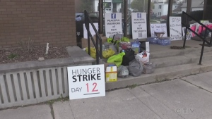 Collingwood hunger strike