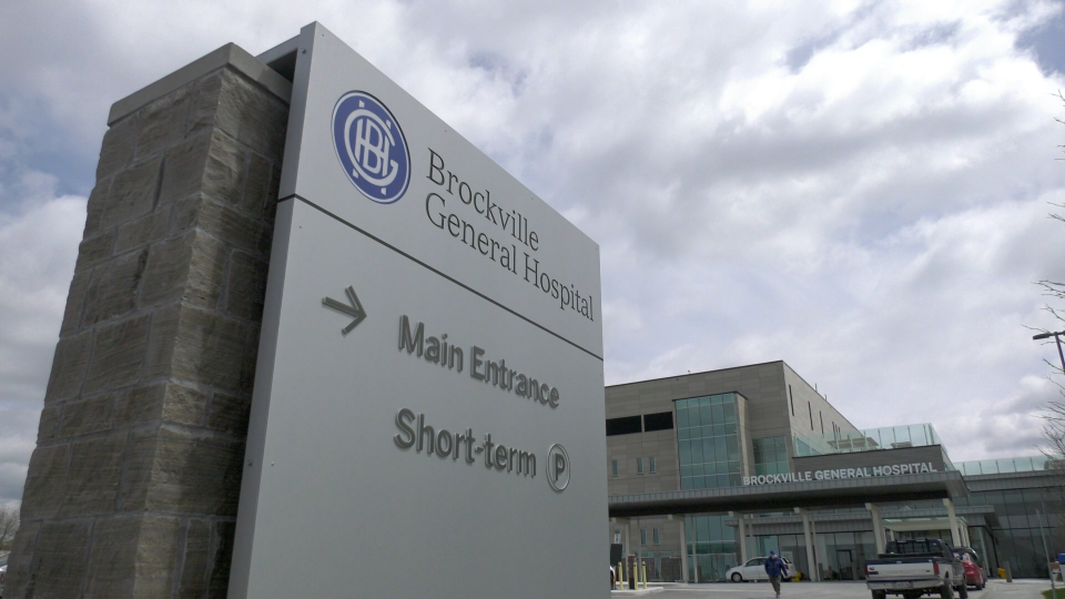 The Brockville General Hospital has admitted patients from Cornwall, Kingston and the Toronto area since mid-march. (Nate Vandermeer/CTV News Ottawa)