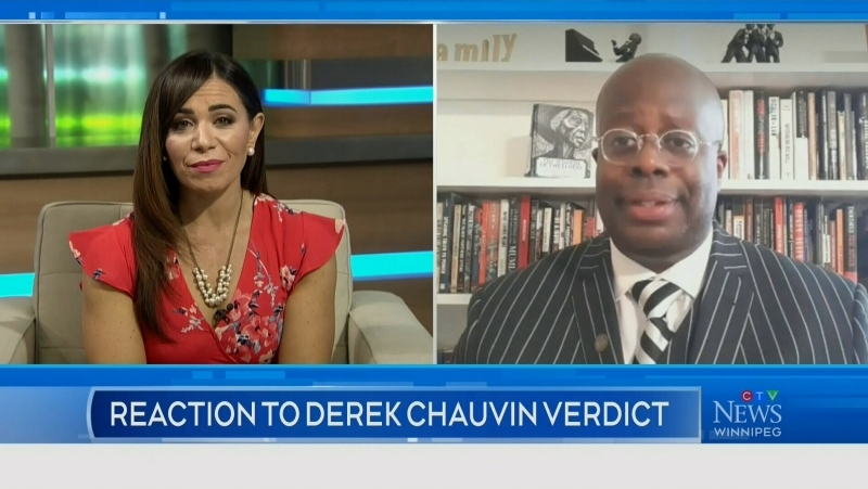 INTERVIEW: Reaction to Derek Chauvin verdict