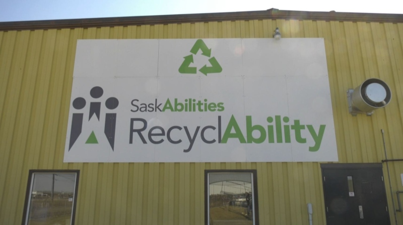 Sask Abilities encourages recycling in Yorkton