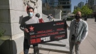 """One lucky Vancouver man is $100,000 richer after winning the massive prize up for grabs in Virgin Radio's """"Destroy Your Debt"""" contest."""