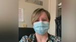 Nurse shares experience in COVID ward
