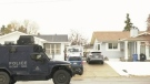 Residents locked down due to armed standoff