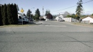 The area where the explosion took place in south Nanaimo is shown: (CTV News)