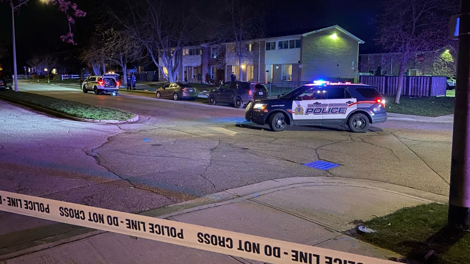 shooting on Overlea Court