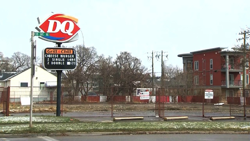 The owners of the burned-down Dairy Queen appealed a city decision to allow them to rebuild their restaurant