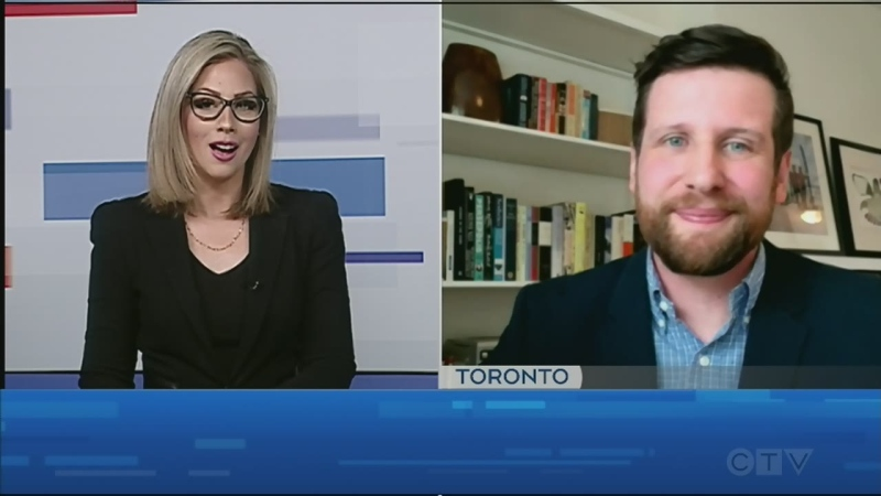 CTV's Jessica Gosselin talks to Justin Cutler of Ontario Creates about the opportunity to grow film and TV production in the north. April 22/21 (Jessica Gosselin/CTV Northern Ontario)
