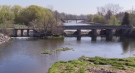 The Howson Dam in Wingham, Ont. is seen Friday, April 23, 2021. (Scott Miller / CTV News)