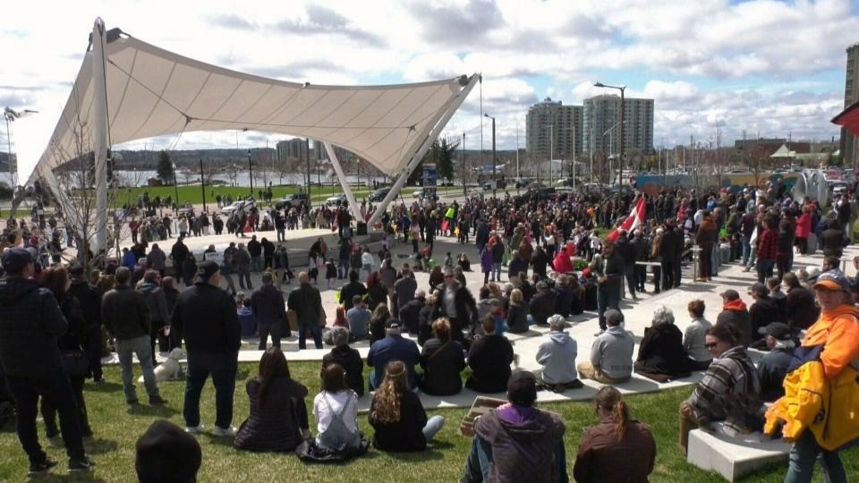 Anti-lockdown rally planned in Barrie